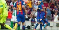 Liga : FC Barcelone – Real Betis 2-6 Les Buts