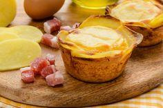 Cestini di patate al formaggio