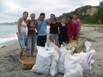 Our Different Drummer Travel traveler-volunteers helped in Ecuador's Beach Conservation Project, which aims to support sustainable development through the marine and coastal resources.