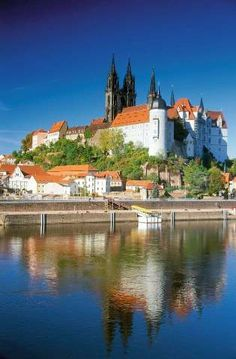 Albrechtsburg Castle is one of the most beautiful late Gothic buildings in Germany.