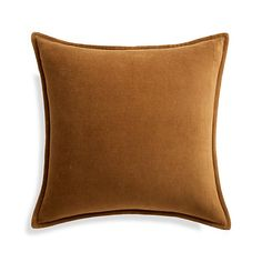 Sale ends soon. Shop Brenner Velvet Mauve Pillow Neat and classic, this luxurious velvet pillow in soft mauve adds the perfect mid-century modern accent to any room. Its rich, solid color and plush texture layer well with coordinating patterns and solids. Orange Pillows, Velvet Pillows, Cotton Velvet, Blue Velvet, Unique Furniture, Custom Furniture, Dining Banquette Bench, Wood End Tables, Small Dining