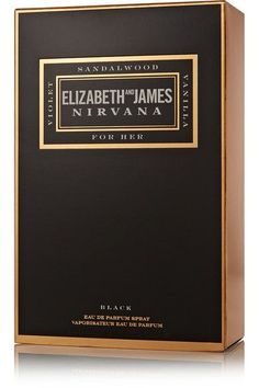 Elizabeth and James Nirvana - Nirvana Black Eau De Parfum - Violet, Sandalwood & Vanilla, 100ml - one size