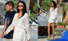 ANDPOP | Look For Less: Selena Gomez's Super Feminine Playsuit