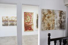 """Salas da Exposição """"35 Anos de Arte""""  na Galeria Virgínia Tamanini - Vitória ES."""