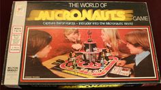 MILTON BRADLEY: 1978 The World of Micronauts Game #Vintage #Games