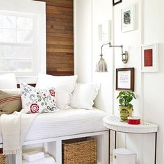 a very small space with lots of great ideas.