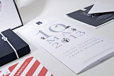 Paperlux: MS Europa 2 Christening Invitation