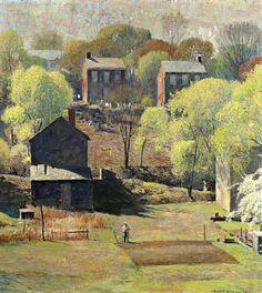 Daniel Garber, In the Springtime (1954).