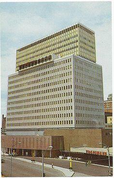 Old Photos of Rochester NY   Rochester NY Midtown Plaza