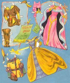 Cinderella Paper Dolls by Ethel Hays, 5