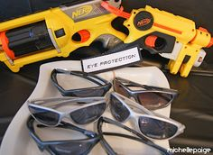 NRF GUN PARTY: Arrival and Assemble Gear