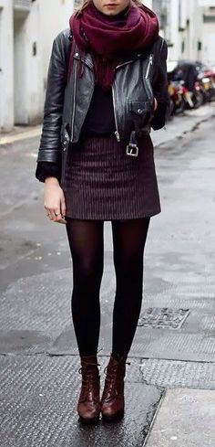 Love the scarf and the bottom half of this look. I'd prefer a similar print/color skirt but slightly more flared.