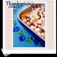 Traditional Thanksgiving Sweet Potato Casserole