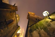 Cáceres Medieval by carlos jm, via Flickr Medieval, Cities, Places To Go, Buildings, Spanish, Barcelona, Wanderlust, Travel, Painting