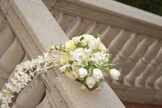 Tulip cascade wedding bouquets | Pin it Like Image