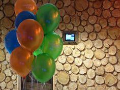Happy 1st Birthday balloons!