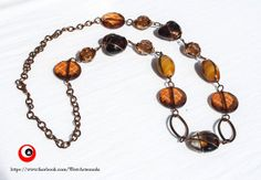 Stunning Vintage Necklace with beautiful stones di WoWArteModa, €24.90
