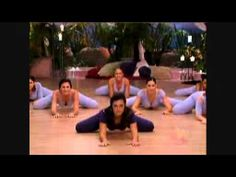 Part 3. Belly dance yoga fusion with Suhaila Salimpour. 15 min.