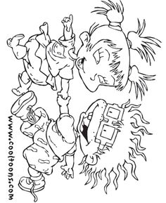 rugrats coloring pages | rugrats coloring pages and sheets can be ... - Rugrats Characters Coloring Pages