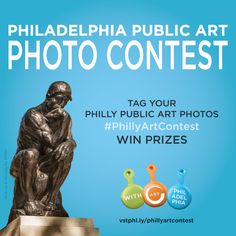 Enter our Philadelphia Public Art Photo Contest by submitting your best photo of public art and you could win an artful getaway in the city. #PhillyArtContest