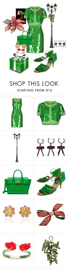 """""""Holiday Look #51"""" by flippintickledinc ❤ liked on Polyvore featuring Moschino Cheap & Chic, Maxim, San Miguel, Mulberry, Olivia Morris, Carla Amorim, Aurélie Bidermann and West Elm"""
