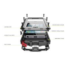 Husa metalica TAKTIK® Extreme pentru iPhone 7 Plus - Lunatik - Triomag Iphone 7 Plus, Iphone 6, Ipad Pro, Plus 8, Shopping