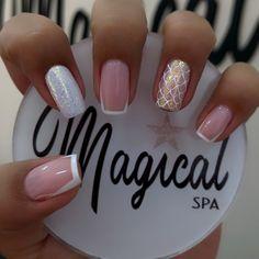 Shellac Nails, My Nails, Acrylic Nails, Manicure, Cute Nails, Pretty Nails, Bright Nail Art, Oval Nails, Dream Nails