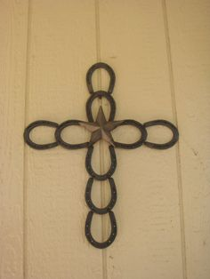 I like this cross, and other horseshoe items I saw on this site.