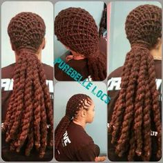 Loc Envy...basket weaved to the gawds!
