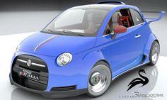 フィアット500にフェラーリV8、「550イタリア」計画…イタリア新興企業