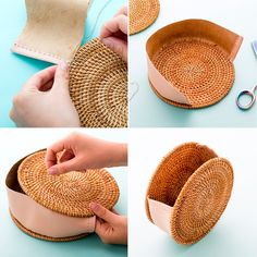 DIY That Must-Have Straw Circle Bag for $25 via Brit + Co