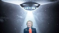 Inside Hillary Clinton's Strange, Bizarre UFO Lobby   Frontpage Mag