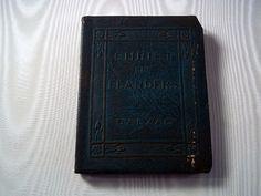 Antique Books Vintage Books Vintage Miniature Book Little