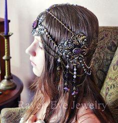 Mucha Glass Pendant Necklace