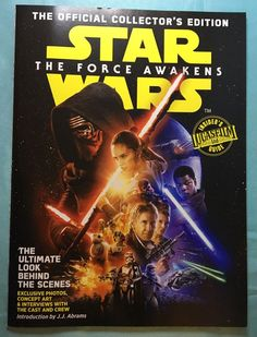 Star Wars The Force Awakens Official Collector's Edition Magazine Feb 2016  | eBay