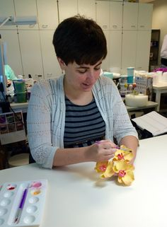 The Wilton Decorating Room creates about 2,600 decorating projects each year. Learn more about Wilton Decorator Emily Easterly.