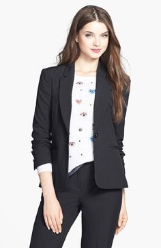 Halogen®+One-Button+Suit+Jacket+(Regular+&+Petite)+available+at+#Nordstrom