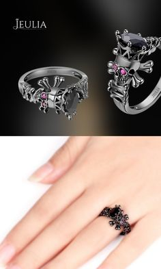 Unique Designer Rings from Jeulia Jewelry.