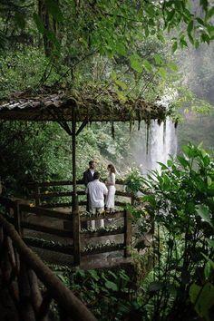 Costa Rica Wildlife Refuge Elopement