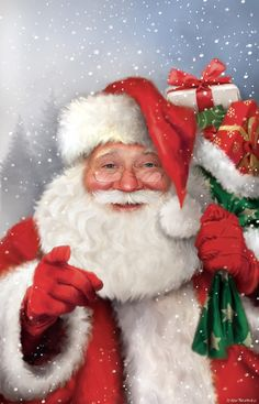 Father Christmas, Retro Christmas, Christmas Love, Christmas Crafts, Christmas Decorations, Xmas Drawing, Christmas Drawing, Christmas Scenes, Christmas Animals