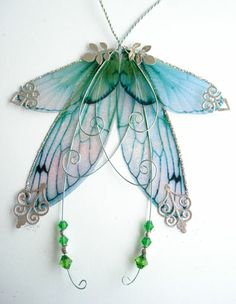 Polymer Clay Fairies for Sale | ... multi hued fairy wings for your own art doll fairy sculpture which are