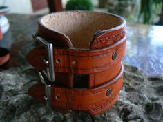 Leather Cuff Brown Leather Cuff Women's Leather#leatherbracelet #leathercuff
