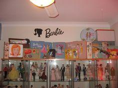 Neat Barbie display