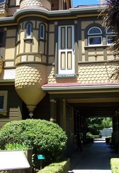 The Door to Nowhere on the Winchester House, San Jose, California