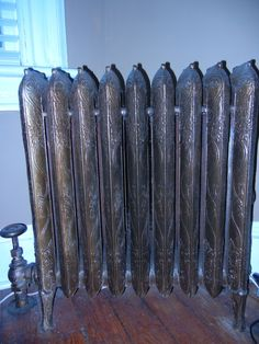 Original radiators are great. On the other hand, the 40-year old furnace is, well, we won't go down there just yet.