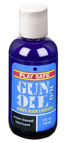 Gun Oil H2O Lubricant - 4 oz. Funtimes209