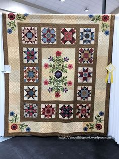 My third place winner at the Quilt Show
