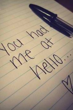 You had me at hello. Jerry mcGuire #movie quotes