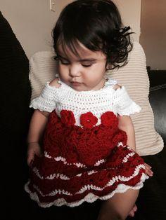 Vestido para bebe by Miriam Cedeno
