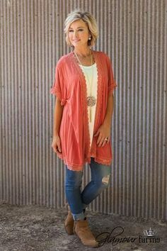 Sunset Cardigan is on trend for fall.